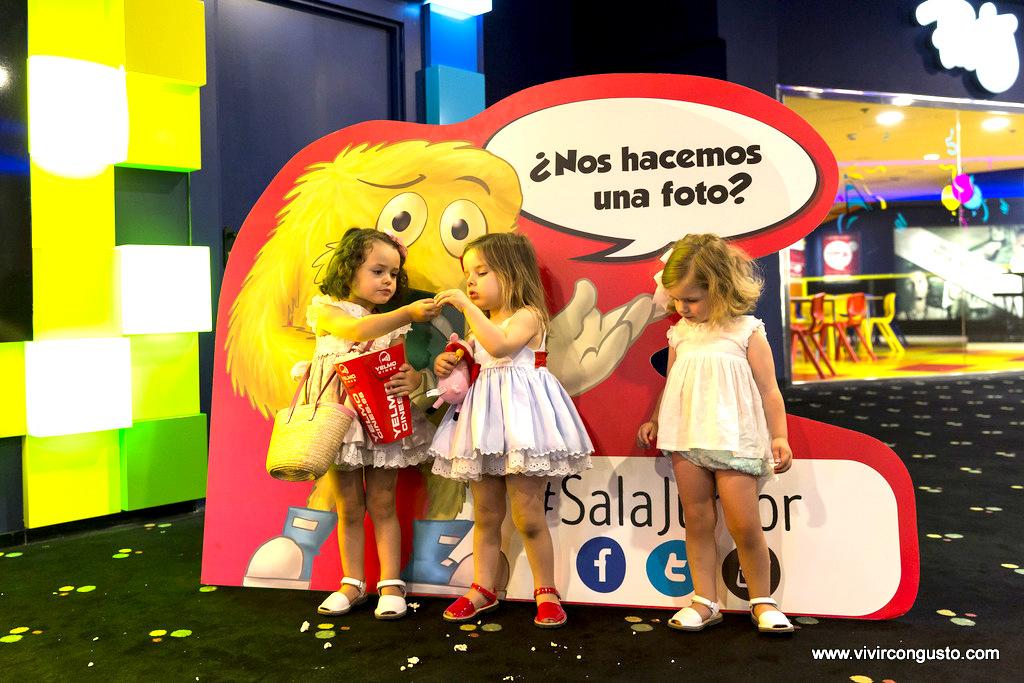 La primera sala de cine exclusiva para ni os vivircongusto for Sala junior islazul